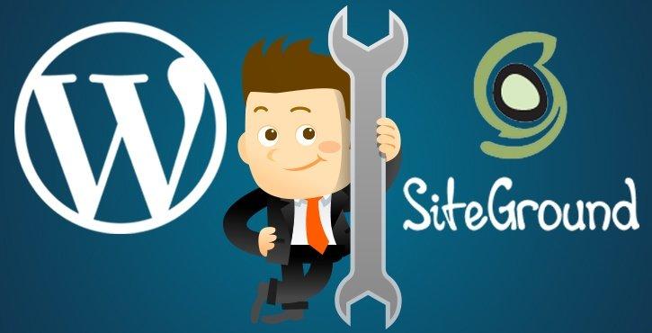 Installare Wordpress su Siteground -