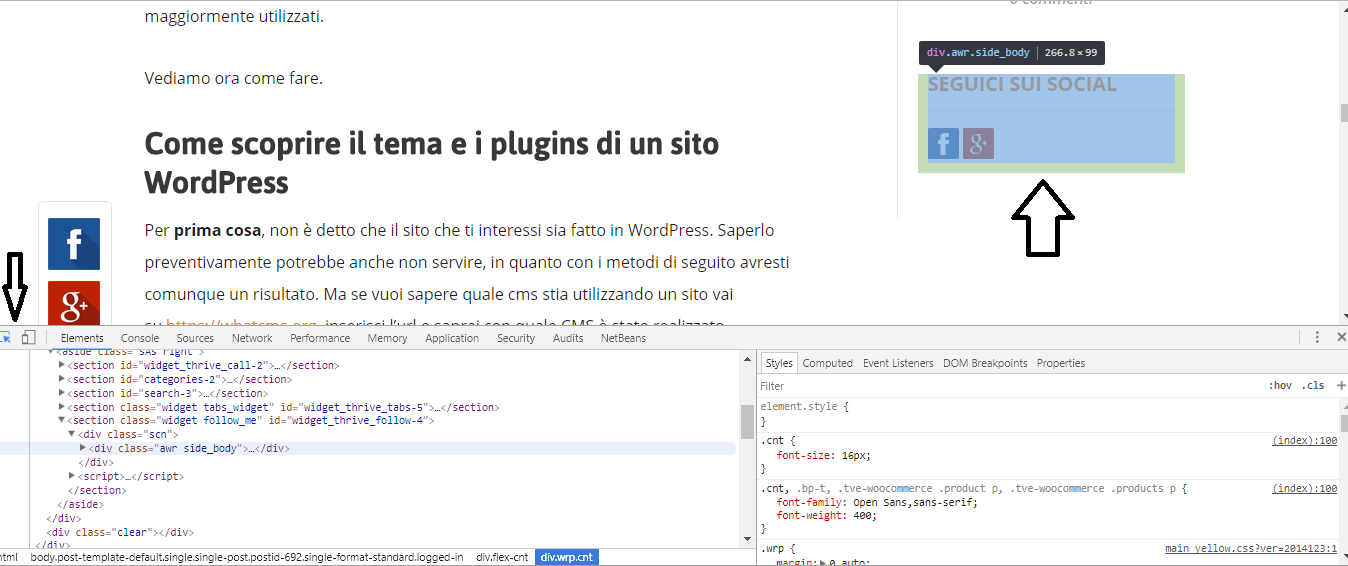 Scoprire plugin wordpress