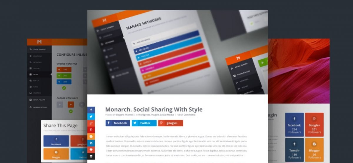 Monarch - Plugin social per WordPress