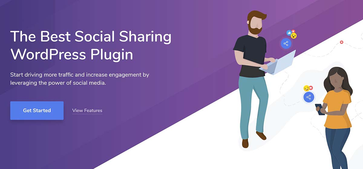 Social Snap- Plugin social per WordPress